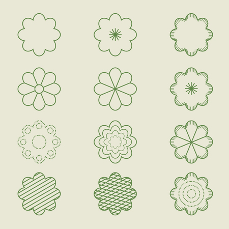 simple flower patterns suitable for your produces