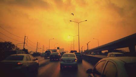 heaving: Heaving Traffic during evening Sunday