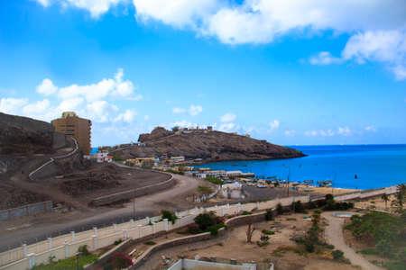 aden: The famous beach Elephant in Aden, Yemen