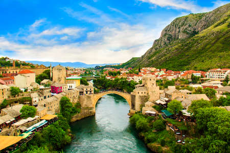 Old Bridge in Mostar, Bosnia and Herzegovina