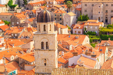 Beautiful view of the streets of Dubrovnik, Croatia
