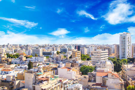 Nice view of Nicosia, Cyprus Editorial