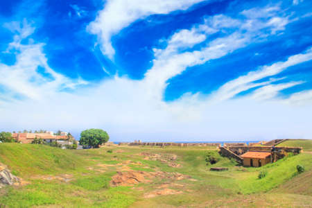 Nice view of the surroundings of Fort Halle, Sri Lanka Stock Photo