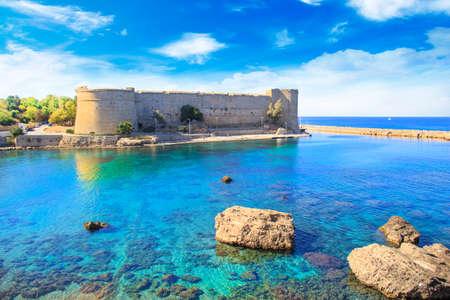 キレニア(ギルネ)のキレニア城の美しい景色、北キプロス