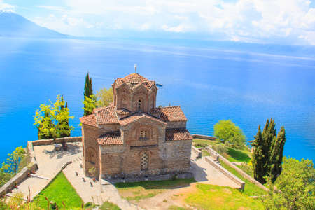 Church of St. John of Kanevo in Ohrid, Macedonia
