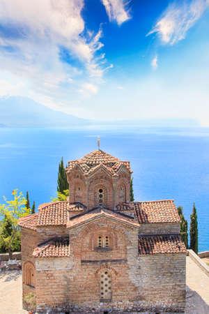 Church of St. John of Kanevo in Ohrid, Macedonia
