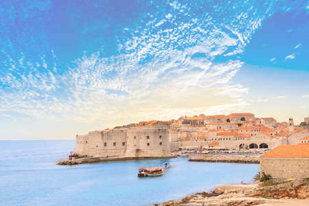 Beautiful view of the ancient city of Dubrovnik, Croatia Reklamní fotografie