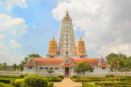 Beautiful view of the Wat Yan Temple in Pattaya, Thailand Stock Photo