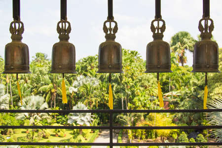 Beautiful view of the bells in Pattaya, Thailand