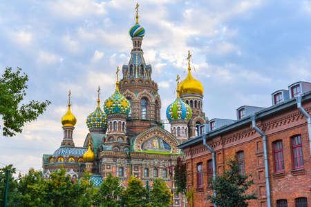 savior: Church of the Savior on Blood in Saint Petersburg, Russia Stock Photo