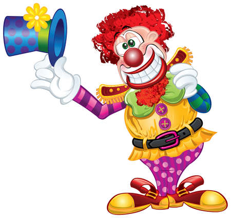 Clown Theme Vector
