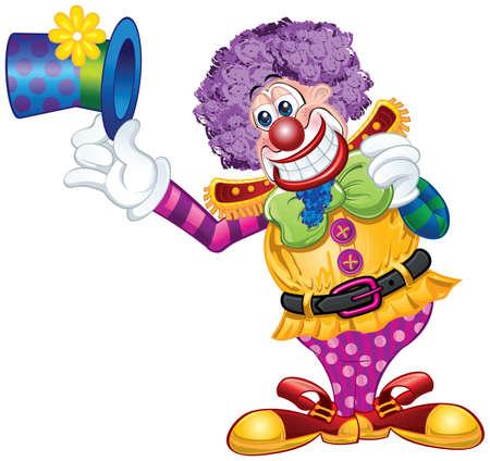 Clown Theme Vector