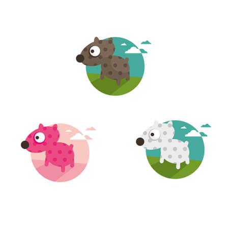 cute dog: Cute dog illustration Illustration