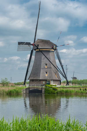 the netherlands: mills of the Kinderdijk in the Netherlands,