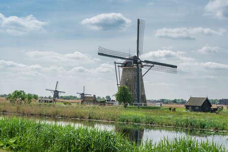 ve: mills of the Kinderdijk in the Netherlands,