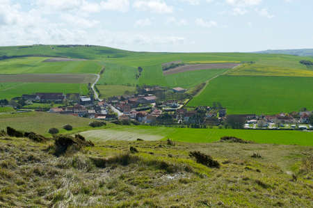 infiltration: the small town of Lescale the Cap Blanc-Nez