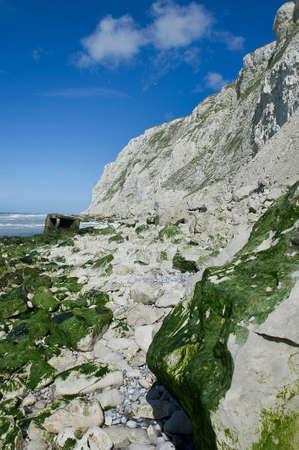 infiltration: the cliffs of Cap Blanc-nez