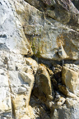 infiltration: water infiltration into the cliffs of Cap Blanc-nez