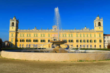 edifice: Colorno, Italy, 8 november 2015.Ducal Palace is an edifice in the territory of Colorno province of Parma, Emilia Romagna, Italy. It was built by Francesco Farnese, Duke of Parma in the early 18th century.After the Congress of Vienna, the duchy of Parma we Editorial