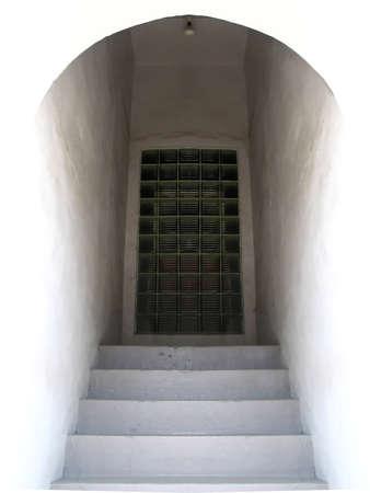 shadowed: shadowed doorway
