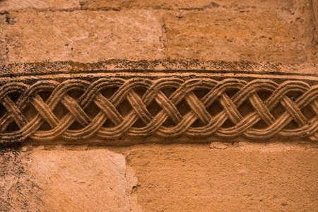 romanesque ornament in spanish church