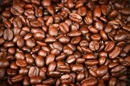 Fresh Roasted Coffee Beans, Espresso, Java w rich color and aroma for brewing