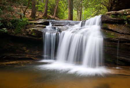 Table Rock State Park SC Waterfalls Carrick Creek Nature Landscape Flowing Water photo