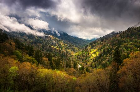 Great Smoky Mountains National Park Gatlinburg Tennessee Scenic Landscape Photography