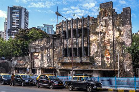 06 Jun 2017 Art Deco The remains of Bombay's Diana Talkies Tardeo or Tardeo Road MUMBAI MAHARASHTRA INDIA