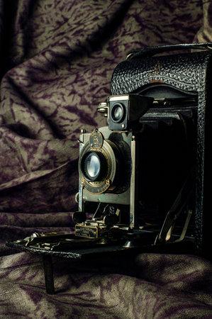 30 Jan 2004 Antique Kodak Number three autographic model G Ektarlens Mumbai Maharashtra INDIA