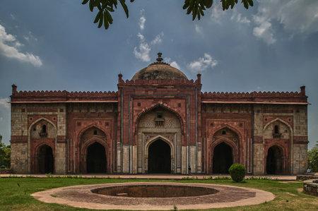12-jun-2004-Qila Kuhna Masjid (Mosque) inside Purana Qila (Old Fort) DELHI INDIA