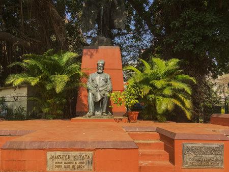 10 Feb 2020 Stetyu of Jamsetji N Tata at Mantralaya Mumbai maharashtra India