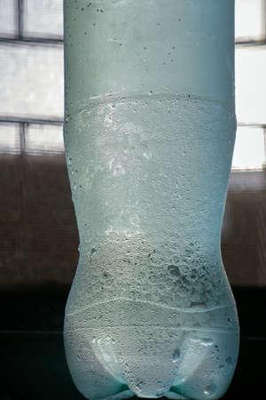 21-03-2019-micro water drops on chilled soda water bottle kalyan maharashtra INDIA