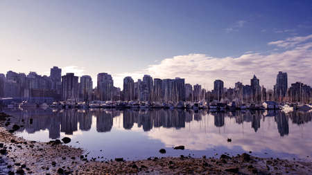 Photo of skyscrapers in Vancouver