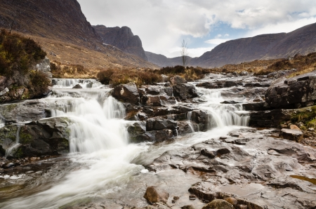 Russel Burn is a typical highlands mountain stream