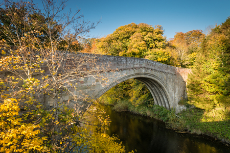 major battle: Twizel Bridge spans River Till - Built in 1511 the medieval Twizel Bridge played a major part in the build up to the Battle of Flodden. It crosses the River Till in the border country of Northumberland