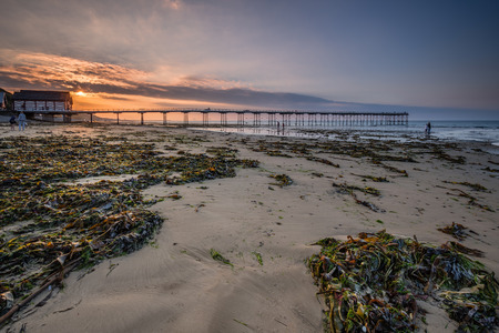 Saltburn Sands and Pier - Saltburn by the Sea is a Victorian seaside resort, with a pier that is the most northerly  surviving British Pier