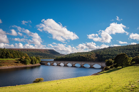 Ladybower Reservoir and Bamford Edge, which are situated in the Upper Derwent Valley, at the heart of the Peak District National Park