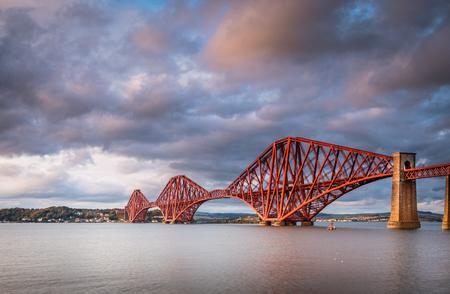 Forth Railway Bridge, the Forth Bridge is a cantilever railway bridge across the Firth of Forth in Scotland, west of Edinburgh City Centre
