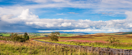 Redesdale is a valley in the heart of Northumberland National Park in northeast England