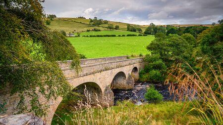 Blackett Bridge over River West Allen, is a three arched road bridge near Ninebanks in Northumberland