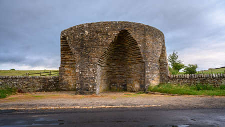 Crindledykes Limekiln, is one of several built in this area around Hadrian's Wall in Northumberland and is a Grade ll Listed Building