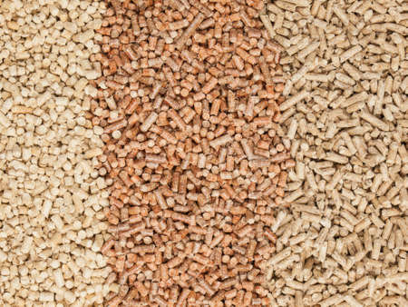 softwood: three types of hardwood and softwood wood pellets