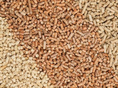 wood pellets: three types of hardwood and softwood wood pellets