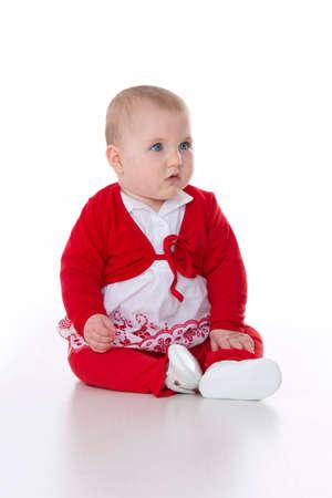 wildcard: baby girl watching what happens