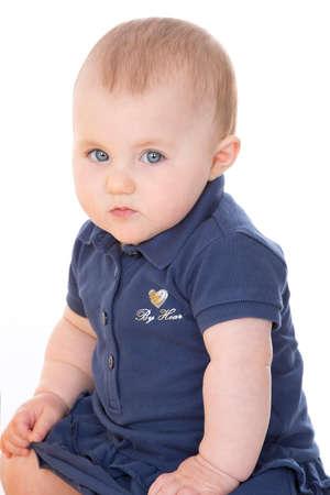 wildcard: baby girl posing
