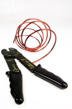 Wire Cutter and Wire Isolation Stok Fotoğraf