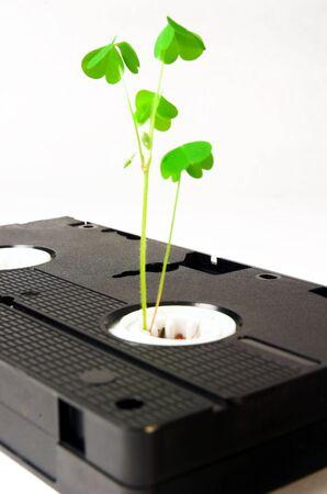 old technology: Una metafora visiva del antiquation di vecchie tecnologie