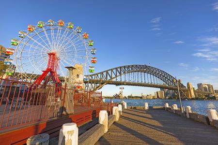 ミルソンズ ポイントからシドニーの眺め。