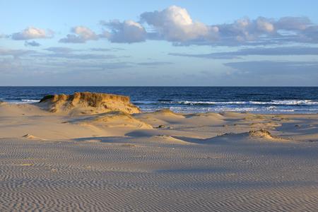 Stockton Beach near Anna Bay in Australia.
